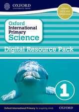 Oxford International Primary Science: Digital Resource Pack 1