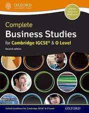 Complete Business Studies for Cambridge IGCSE and O Level