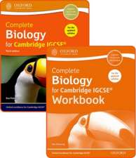 Complete Biology for Cambridge IGCSE® Student Book and Workbook Pack