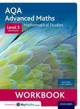 AQA Mathematical Studies Workbook: Level 3 Certificate (Core Maths)