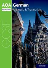 AQA GCSE German Foundation Answers & Transcripts