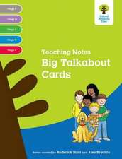 Oxford Reading Tree: Levels 1-4: Big Talkabout Cards Teaching Notes