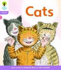 Oxford Reading Tree: Level 1+: Floppy's Phonics Fiction: Cats