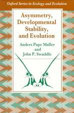 Asymmetry, Developmental Stability, and Evolution:  Principles and Practice
