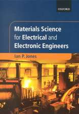 Materials Science for Electrical and Electronic Engineers
