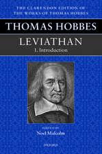 Thomas Hobbes: Leviathan: Editorial Introduction