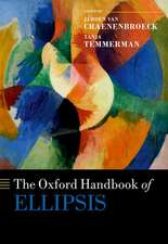 The Oxford Handbook of Ellipsis