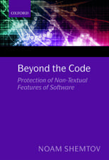 Beyond the Code: Protection of Non-Textual Features of Software