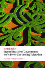 Second Treatise of Government and A Letter Concerning Toleration