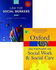 Law for Social Workers & a Dictionary of Social Work and Social Care Pack:  From Internal Market to Competition and Beyond
