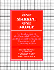 One Market, One Money: An Evaluation of the Potential Benefits and Costs of Forming an Economic and Monetary Union