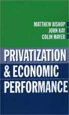 Privatization and Economic Performance