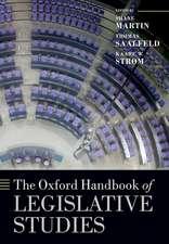 The Oxford Handbook of Legislative Studies