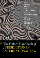 The Oxford Handbook of Jurisdiction in International Law