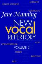 New Vocal Repertory 2