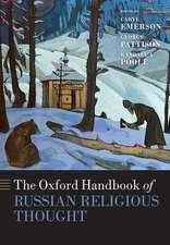 The Oxford Handbook of Russian Religious Thought