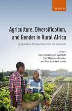 Agriculture, Diversification, and Gender in Rural Africa