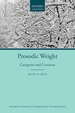 Prosodic Weight: Categories and Continua