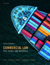 Sealy and Hooley's Commercial Law: Text, Cases, and Materials