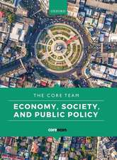Economy, Society, and Public Policy