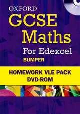 Oxford GCSE Maths for Edexcel Homework Bumper VLE Pack