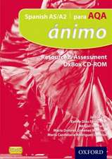 Ánimo: Para AQA Resource & Assessment OxBox CD-ROMs