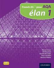 Elan: 1: Pour AQA Student Book