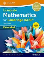 Complete Mathematics for Cambridge IGCSE® Student Book (Extended)
