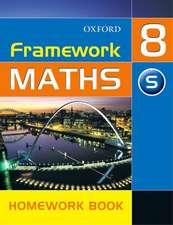 Framework Maths: Y8: Year 8 Support Homework Book