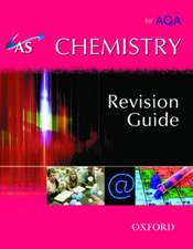 AS Chemistry for AQA Revision Guide