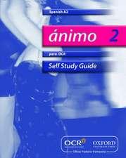 Ánimo 2: Para OCR A2 Self-Study Guide with CD-ROM