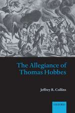 The Allegiance of Thomas Hobbes
