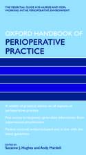 Oxford Handbook of Perioperative Practice