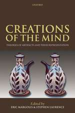 Creations of the Mind: Theories of Artifacts and their Representation