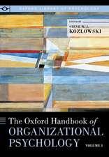 The Oxford Handbook of Organizational Psychology, Volume 1