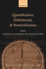 Quantification, Definiteness, and Nominalization