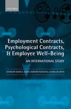 Employment Contracts, Psychological Contracts, and Employee Well-Being: An International Study