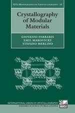 Crystallography of Modular Materials