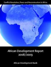 African Development Report:  Conflict Resolution, Peace and Reconstruction in Africa