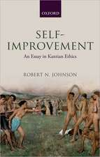 Self-Improvement: An Essay in Kantian Ethics