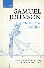 Samuel Johnson: The Arc of the Pendulum