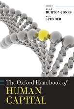 The Oxford Handbook of Human Capital