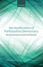 De-Mystification of Participatory Democracy: EU-Governance and Civil Society