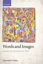 Words and Images: An Essay on the Origin of Ideas