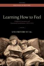 Learning How to Feel: Children's Literature and Emotional Socialization, 1870-1970