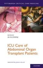ICU Care of Abdominal Organ Transplant Patients