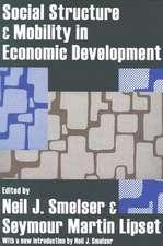 Social Structure & Mobility in Economic Development