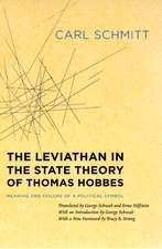 The Leviathan in the State Theory of Thomas Hobbes – Meaning and Failure of a Political Symbol