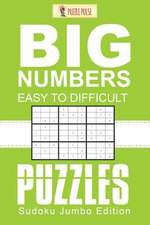 Big Numbers, Easy to Difficult Puzzles