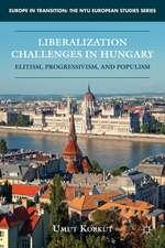 Liberalization Challenges in Hungary: Elitism, Progressivism, and Populism